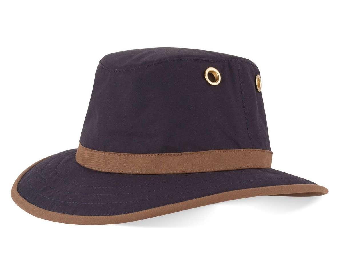 2dfacc42 Tilley TWC7 Outback Waxed Cotton Hat. Brimmed Headwear.